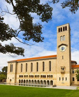 Winthrop Hall at The University of Western Australia