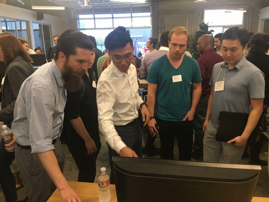 Boot camp participants at The Coding Boot Camp at UCLA Extension Demo Day on June 5, 2019.