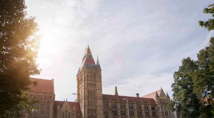 University of Manchester Whitworth Building