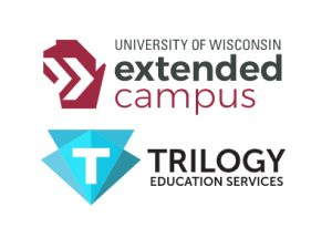 Wisconsin and Trilogy logos