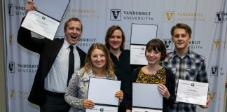 Group of five Vanderbilt boot camp grads